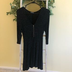 Express 3/4 Sleeve Dress